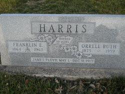 Orrell Ruth <I>Stinnett</I> Harris