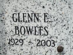 Glenn Elmore Bowles
