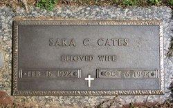 Sara Frances <I>Chalker</I> Cates