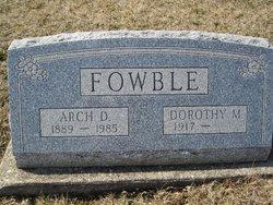 Arch D Fowble