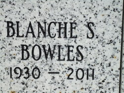 Blanche S Bowles