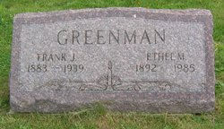 Ethel Marie <I>Post</I> Greenman