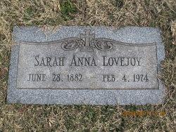 Sarah Anna Lovejoy