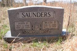 Bessie V. <I>Saunders</I> Saunders