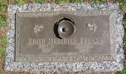 Edith Meredith Farrar