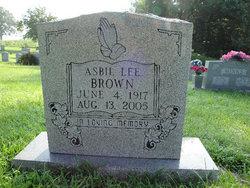 Asbil Lee Brown