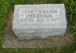 Cyrus William Philbrook