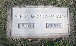 Alice Morris-Reade