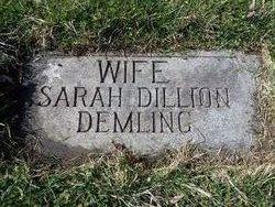 Sarah <I>Dillon</I> Demling