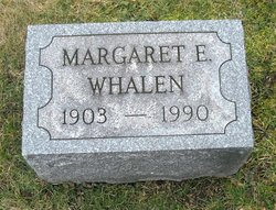 Margaret E <I>Gibbons</I> Whalen