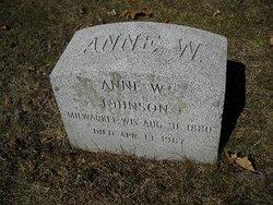Anne W. <I>Johnson</I> Whitcomb
