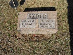 Eleanor Martha <I>Hayward</I> Ryder