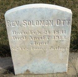 Rev Solomon Ott