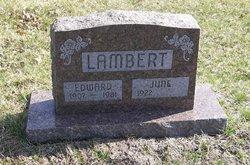 """Edward Arthur """"Ed"""" Lambert"""