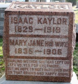 Mary Jane <I>Miller</I> Kaylor