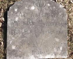 Mae A Woodman