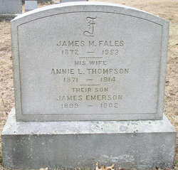 James Marshall Fales