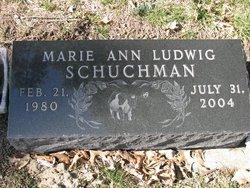 Marie Ann <I>Ludwig</I> Schuchman