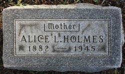 Alice L Holmes