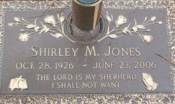 Shirley M. <I>Smith</I> Jones