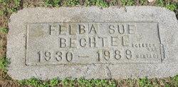 Felba Sue <I>Slatton</I> Bechtel