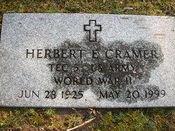 Herbert E Cramer