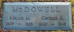 George A McDowell