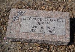 Lily Rose <I>Storment</I> Berry