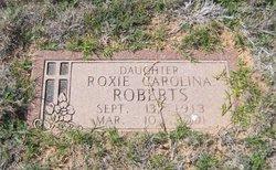 Roxie Carolina Roberts