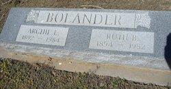 """Archibald L. """"Archie"""" Bolander"""
