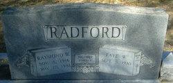 Faye W. <I>Kitchens</I> Radford