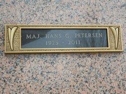 Maj Hans G. Peterson