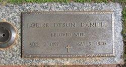 Louise <I>Dyson</I> Daniell