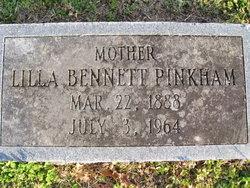 Lilla Bennett Pinkham