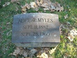 Alice R Myles