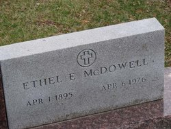 Ethel E. <I>Young</I> McDowell