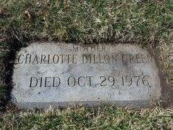 Charlotte <I>Dillon</I> Greene