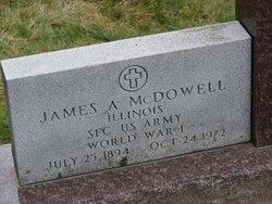 James A. McDowell