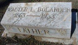 Walter L. Bolander