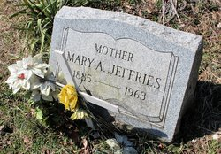Mary A Jeffries