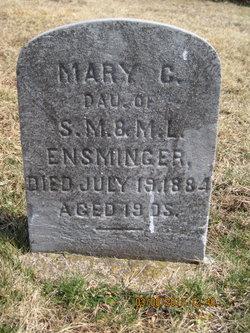Mary C Ensminger