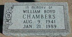 William Boyd Chambers