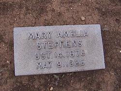 Mary Amelia Stephens