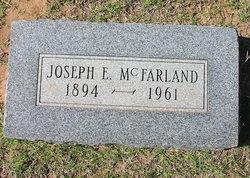 Joseph E McFarland