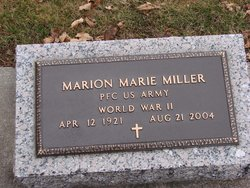 Marion Marie Miller