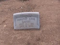 Dorothy Anne Cavitt