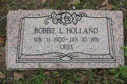 Bobbie L. Holland