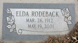 Elda Rodeback
