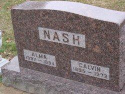 Alma <I>Groff</I> Nash