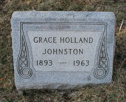Grace <I>Holland</I> Johnston